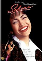 DVD cover for Selena